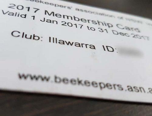 2017 Membership cards Reminder
