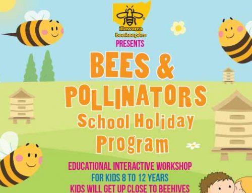 Bees & Pollinators School Holiday Program Oct 2018