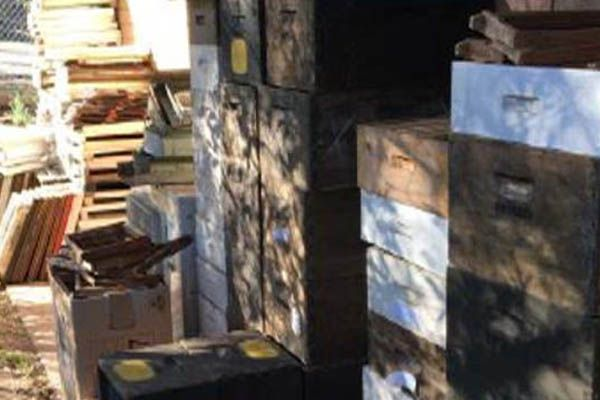old-bee-boxes-and-bee-equipment-illawarra-Beekeepers